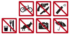 zákazy